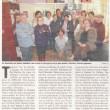 Les Restos du cœur de Chalais remettent le couvert, Charente Libre, 28/03/2012