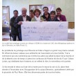 L'Isle d'Espagnac : les cadeaux du Comité de jumelage, Charente Libre, 24/04/2012
