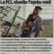 Le FCL réveille l'après-midi, Sud-Ouest, 01/07/2013