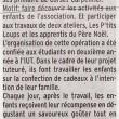 Le FCL maison du Père Noël toute cette semaine, Charente Libre, 18/12/2012