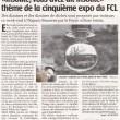 """""""Insolite, vous avez dit insolite"""" thème de la cinquième expo du FCL, Charente Libre"""