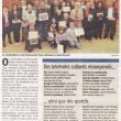 Les bénévoles plébiscités lors des récompenses municipales, Charente Libre, 20/03/2013